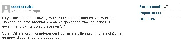 "Swap the Word ""Zionist"" for ""Jew"""
