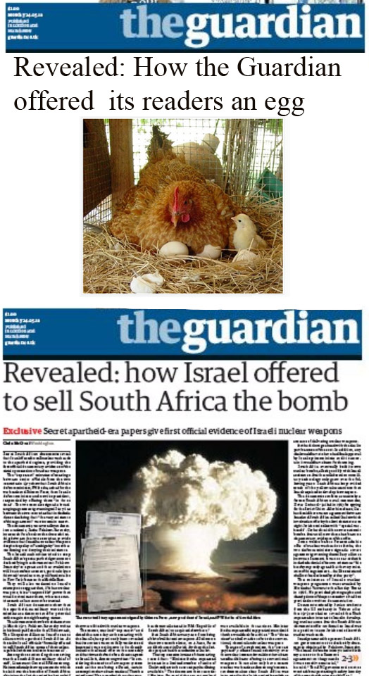 How the Guardian offered its readers an egg