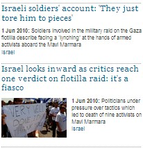 Guardian's Obsession with Israel – June 1, 2010