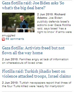 Guardian's Obsession with Israel June 2, 2010