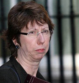 What about my human rights, Baroness Ashton?