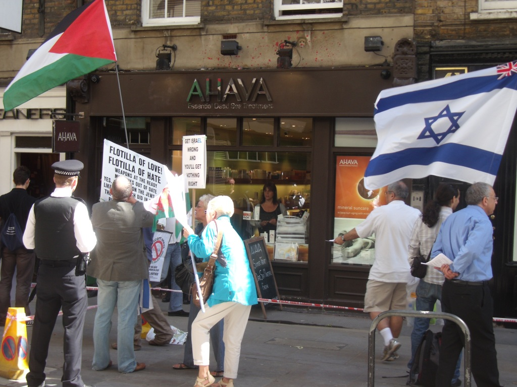 Ahava staff carry on under pressure