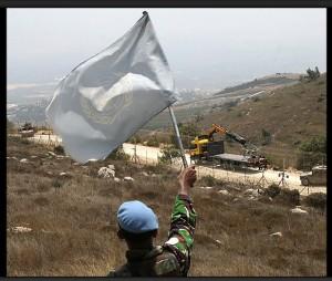 A carefully staged ambush on the Lebanese border