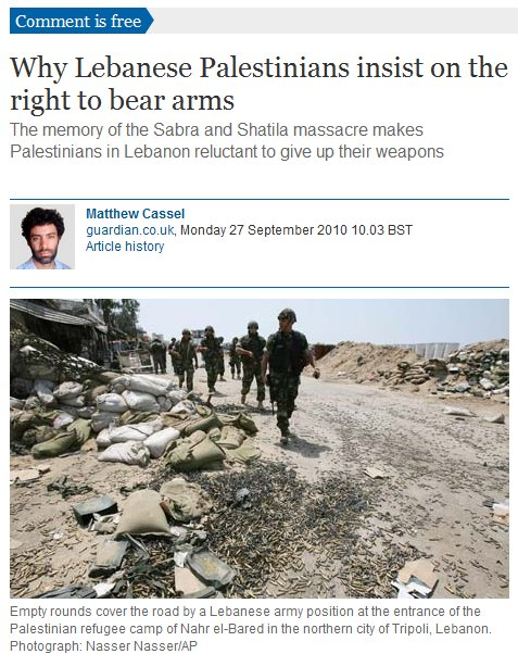 "The Guardian's ""Reductio ad Israel"""