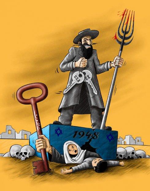 Update on incident regarding explicitly anti-Semitic cartoon at the website of European-funded Palestinian NGO