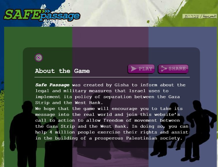 EU-funded Israeli NGO launches anti-Israel video game (in an apparent attempt to capture the teen Demonization market)