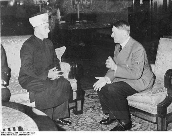 What the Guardian won't report: Mahmoud Abbas praises late Mufti of Jerusalem who collaborated with Hitler