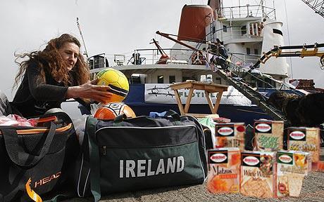 Israeli NGO's preparing Flotilla from Ashdod to Dublin*