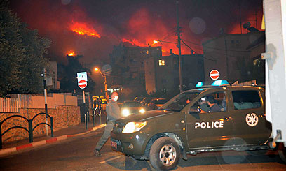 Update on fire in Northern Israel: Neighborhoods of Haifa begin evacuation