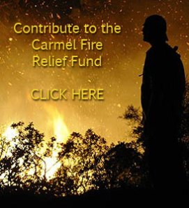 Contribute to the Carmel Fire Relief Fund