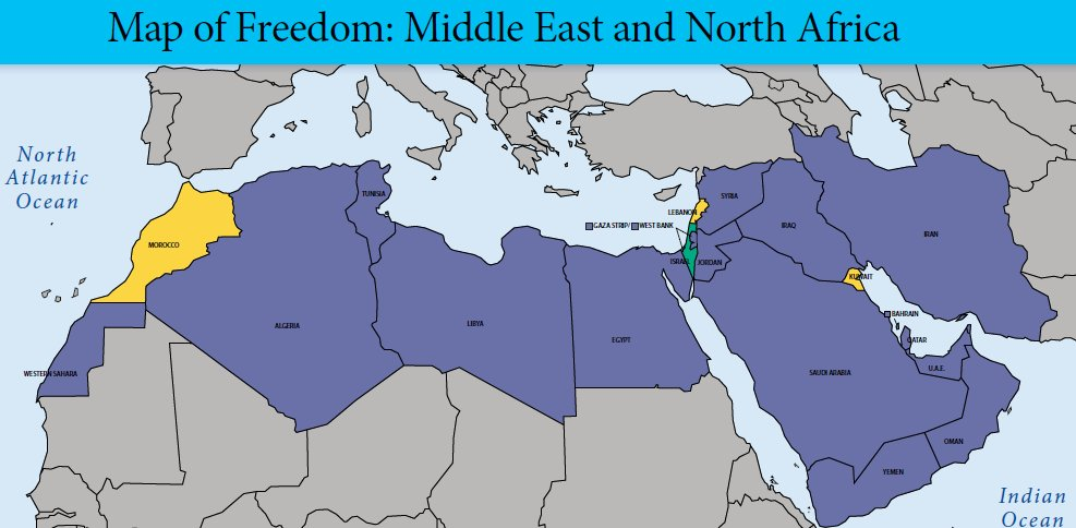 middle eastern singles in freedom Freedom from oppressive and corrupt regimes,  one may address the issue of freedom of religion in the middle east as a region  you a single community .