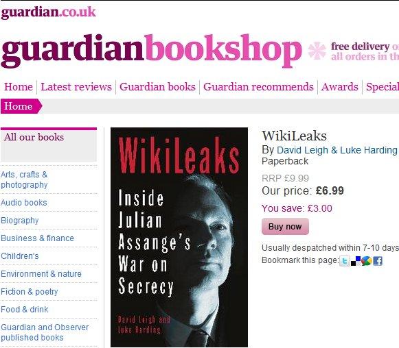 Assange and Guardian lover's quarrel revealed!