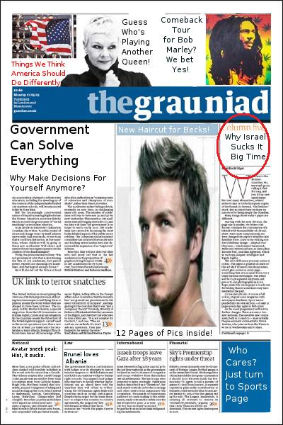 The Guardian cover you've likely never seen