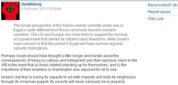 More hate beneath the line: Guardian readers' continuing demonization of the Jewish state