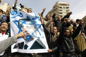 The upheaval in Egypt, and the media's negligence in failing to report on anti-Semitism in the Arab world