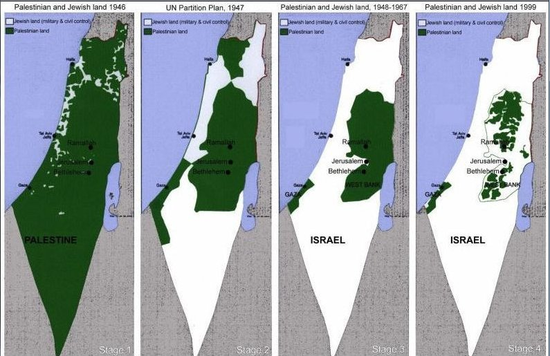 Palestinian Propaganda Map Deconstructed