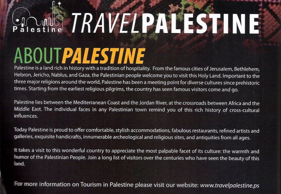 "UK Watchdog rules against ""Travel Palestine"" Ad"