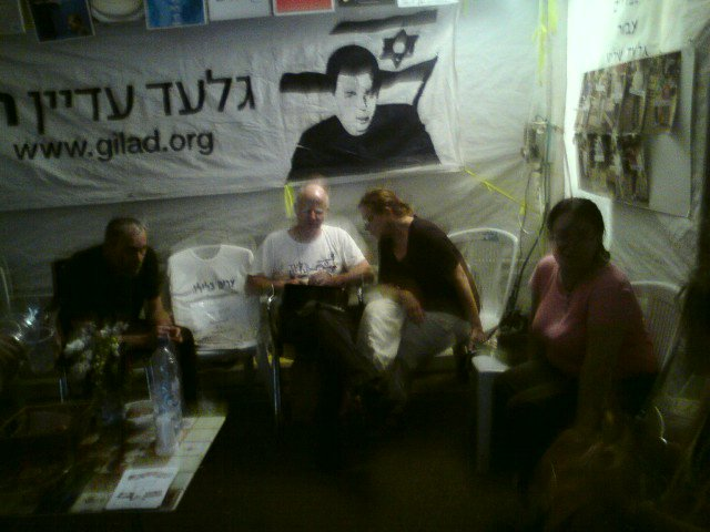 Please tell Gilad Shalit and his family that you haven't forgotten