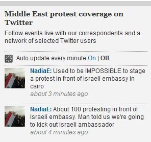 Hope & Change in the Mid-East: Guardian selected Egyptian Twitterer expresses joy about her new freedom to vilify Israel