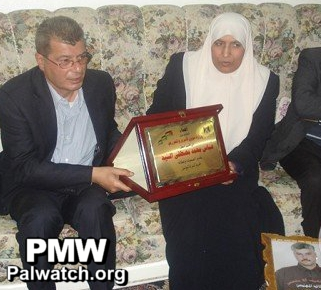 What the Guardian won't report: PA honors terrorist responsible for 2002 Passover Massacre