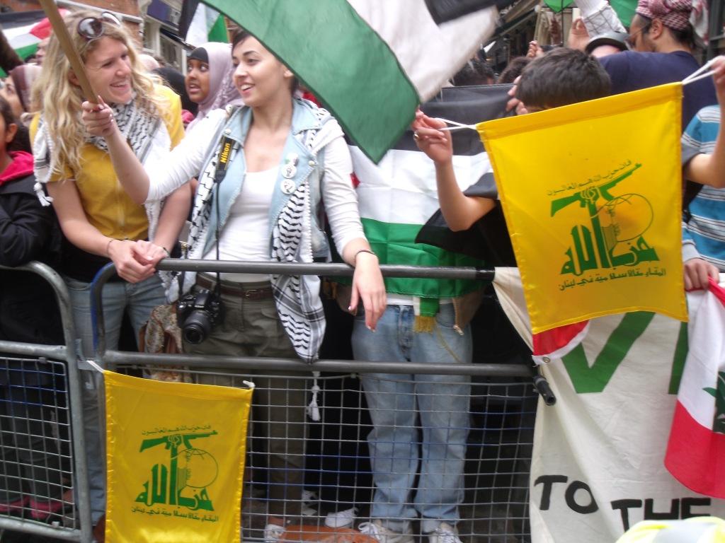 Nakba Day protesters spew hate outside Israeli embassy in London