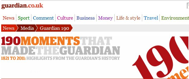 The Guardian at 190: The unauthorized biography