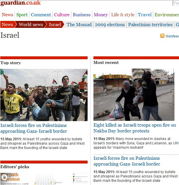 Propaganda as Reporting: Guardian's coverage of today's riots and border infiltrations