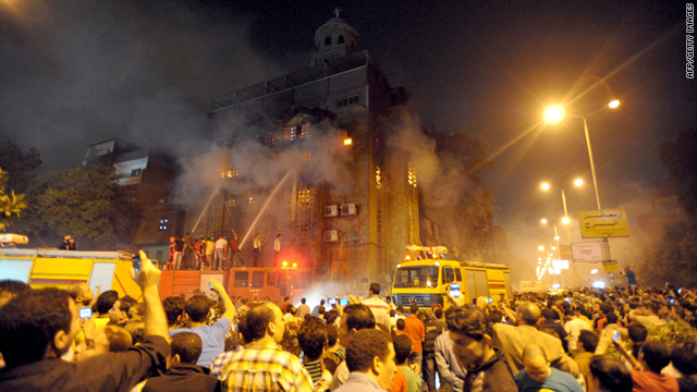 Muslim extremists burn down another Coptic Christian church in Egypt