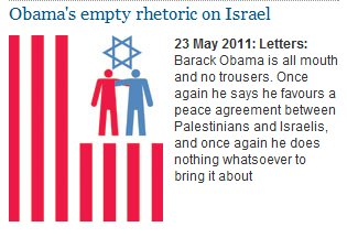 Image accompanying Guardian 'letters to the editor' post condemning Israel evokes classic canard