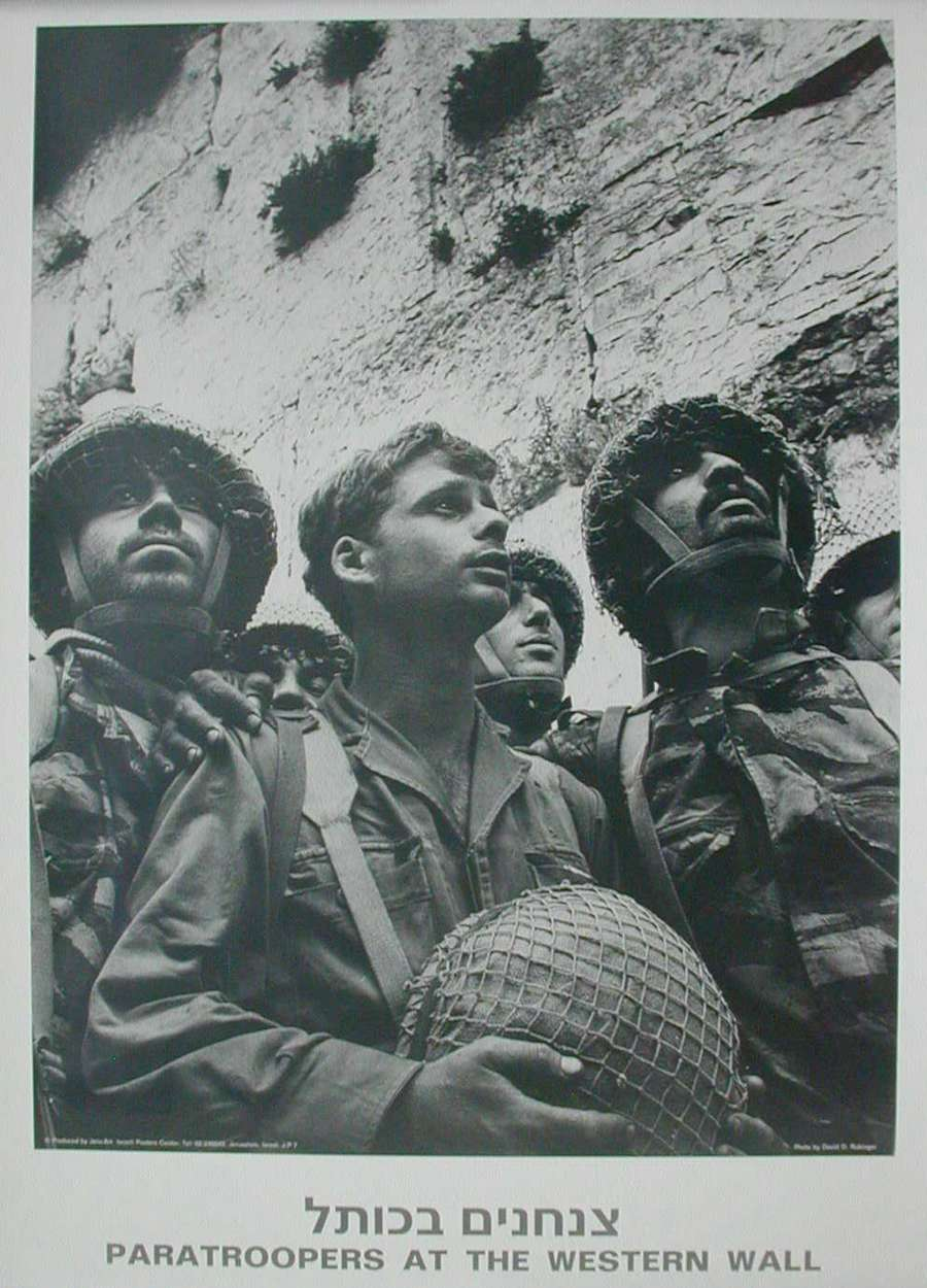 The Six Day War: An Israeli soldier recalls the emotion of freeing the Kotel