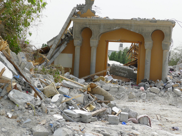 Double standards in reporting of destruction of religious sites in Middle East by Guardian and other UK Media