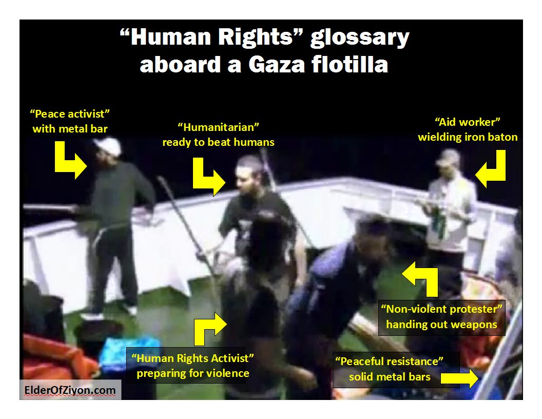 Handy-dandy guide to flotilla human rights terminology (Original EoZ Poster)