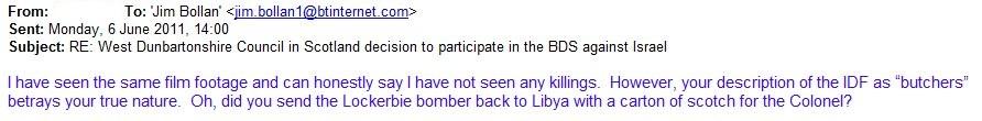 Jim Bollan: Lockerbie bomber was innocent