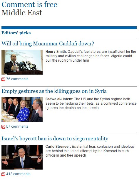 The Guardian's obsession with Israel and the conflicts not covered