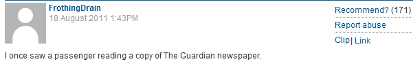 Guardian reader comment of the day: Gérard Depardieu incontinence edition