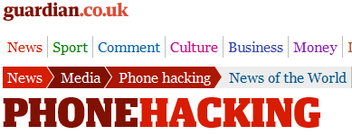 Phone Hacking by Guardian reporters: How far does it go?