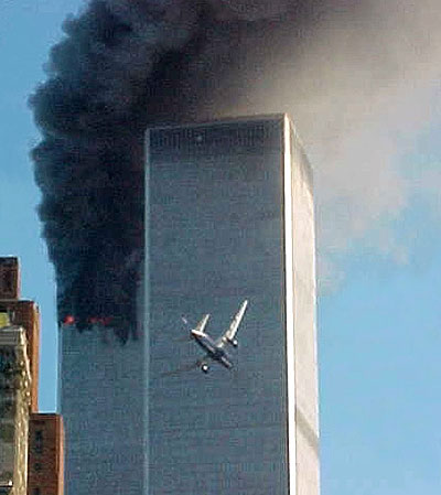 Twin Towers 9 11 Plane