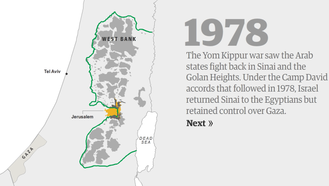 Guardian interactive map rewrites Israeli-Arab history |