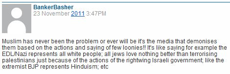 CiF reader comment of the day: Bashing bankers, bashing Jews