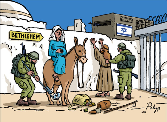 "How the Jews steal Christmas: Ugly Guardian story evokes Jesus as an ""oppressed"" Palestinian"