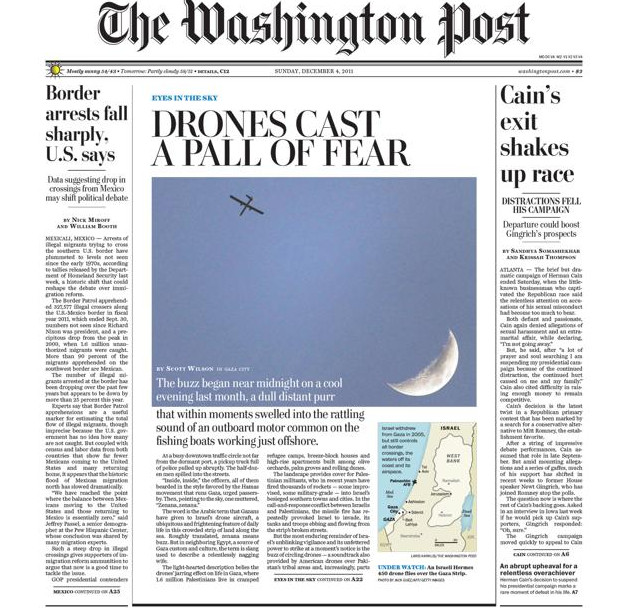 The Washington Post's coverage of Israel: Slouching towards the Guardian?