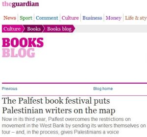 The Guardian, PalFest and the 'culture' of anti-Israel activism