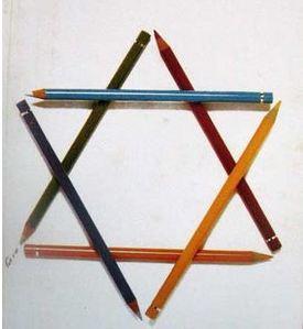 Zionist pencils infiltrate Saudi Arabia!