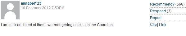 CiF readers blast Jonathan Freedland's critique of Guardian Left orthodoxies on Syria, Iran & Israel