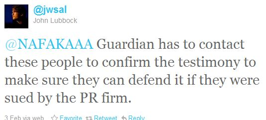 Guardian suddenly feels need to FACT CHECK allegations of human rights violations in Mid-East