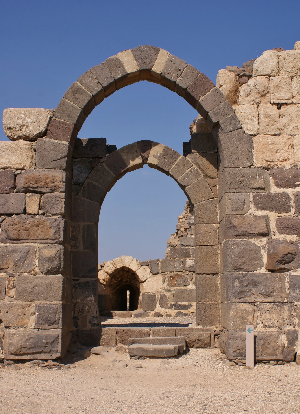Postcard from Israel – Belvoir Crusader fortress  UK ...