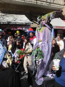 Israel Unmasked: Costumes, Ciggies & Rockets