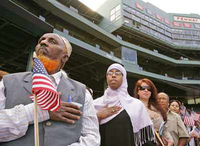 CiF writer's charge of rising US Islamophobia ignores success & happiness of American Muslims