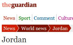 Israel to revoke citizenship of 1.6 million Palestinian Arabs! 'Israel'? I mean Jordan, so Guardian yawns