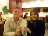 "Salma Yaqoob (right) endorsing Ben ""I can understand why some are antisemitic"" White's book Israel Apartheid for Beginners"